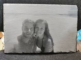 Laser engraving of halftones & greyscale. How to do a laser print of a beautiful photo.