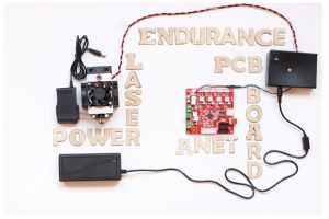 Getting started with Endurance diode lasers - focusing, settings, parameters, misc