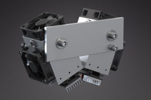 The Endurance 20 Watt (20000 mW) 445 nm double-beam laser add-on (attachment) for a 3D printer,  a CNC machine and an XY plotter