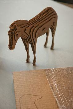 3d object made of wood