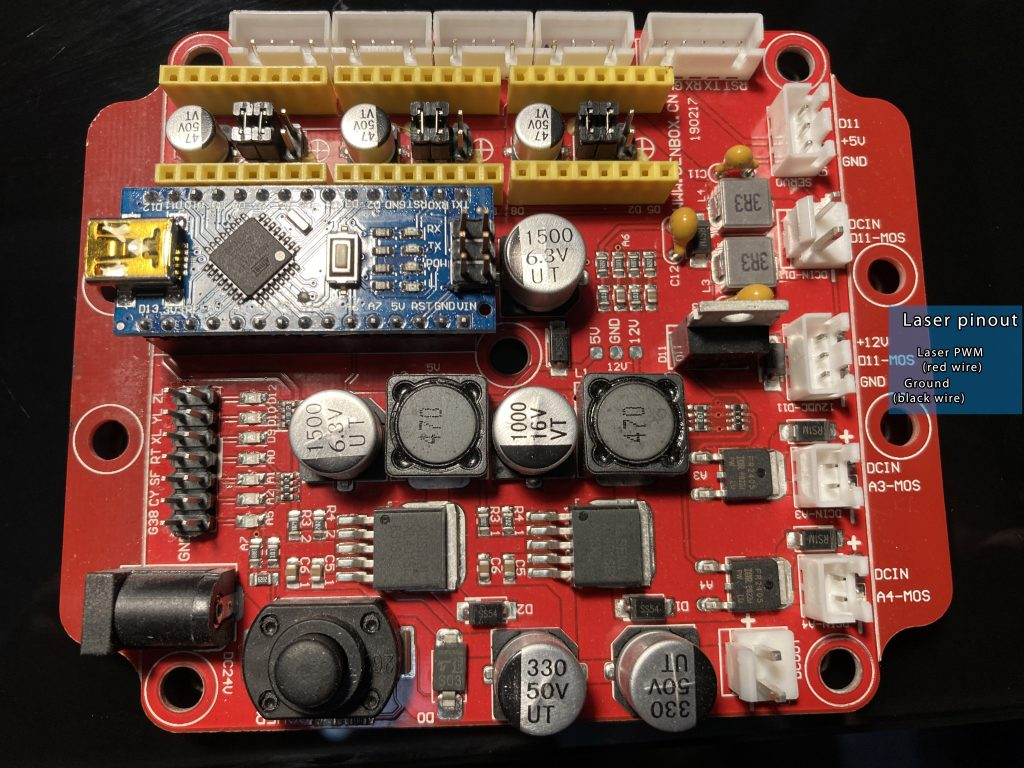 Wiring Endurance lasers to TOP popular boards (3D Printers)
