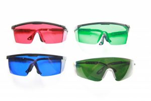 laser protectrive goggles