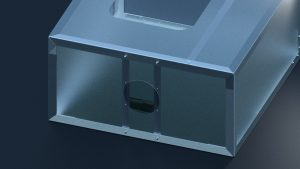 Simple Laser Enclosure and Air Exhaust