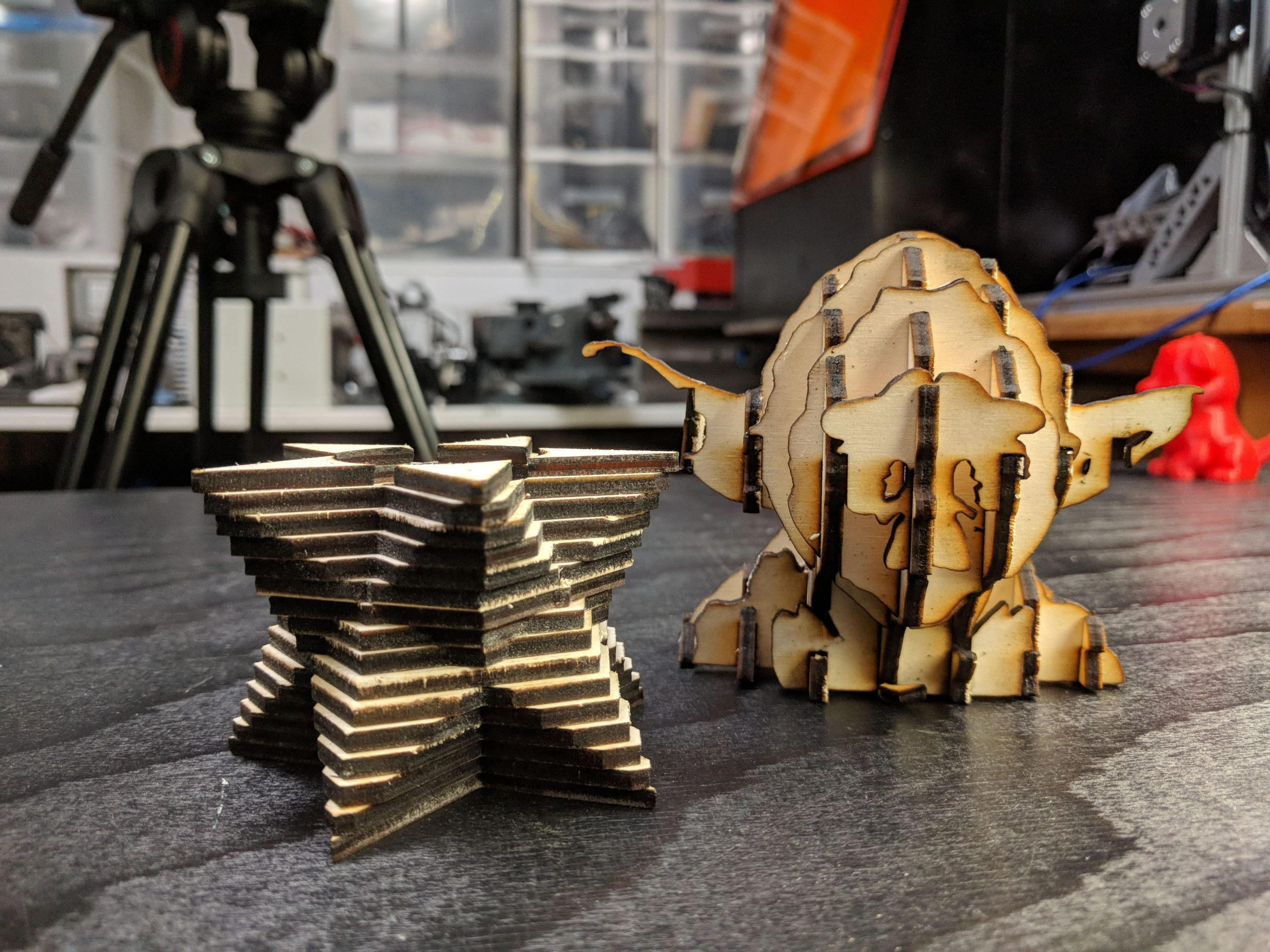 How to Laser-Cut 3D Objects