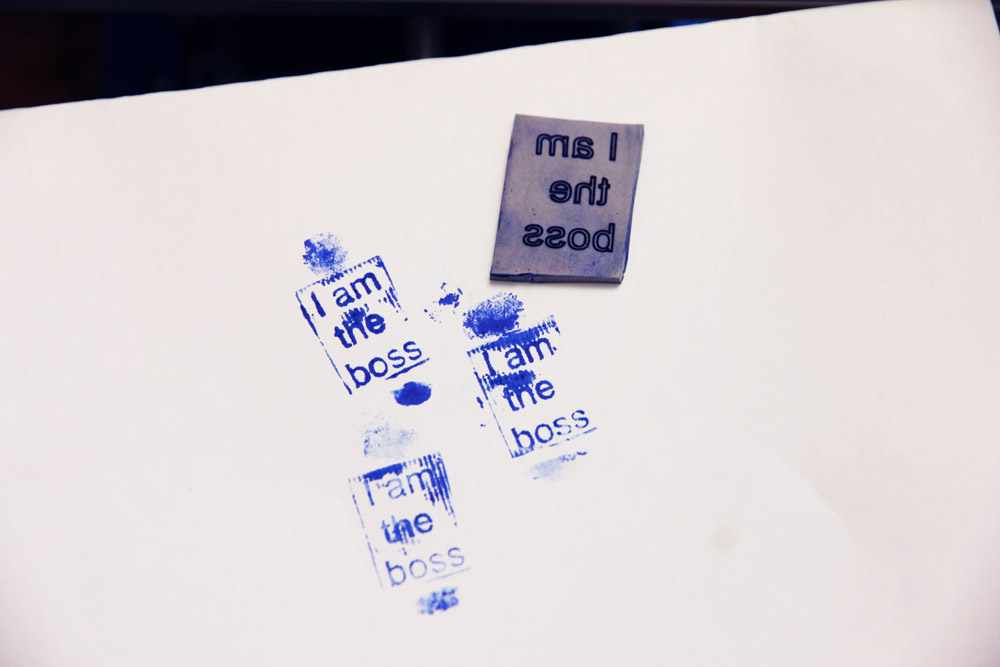 Making stamps and seals with Endurance lasers