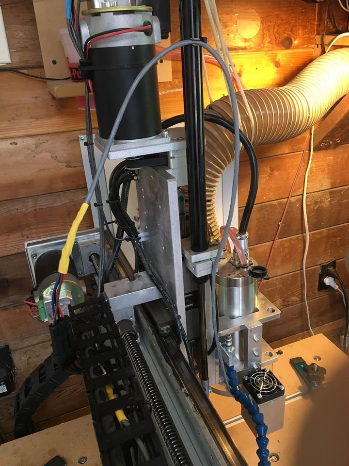 K2CNC router installation