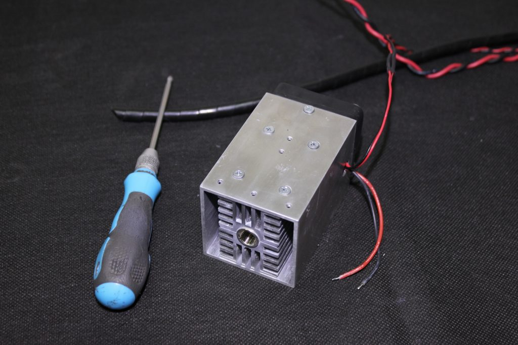 Replacing a laser diode. A detailed guidance. Setting up DC/DC step-down converter