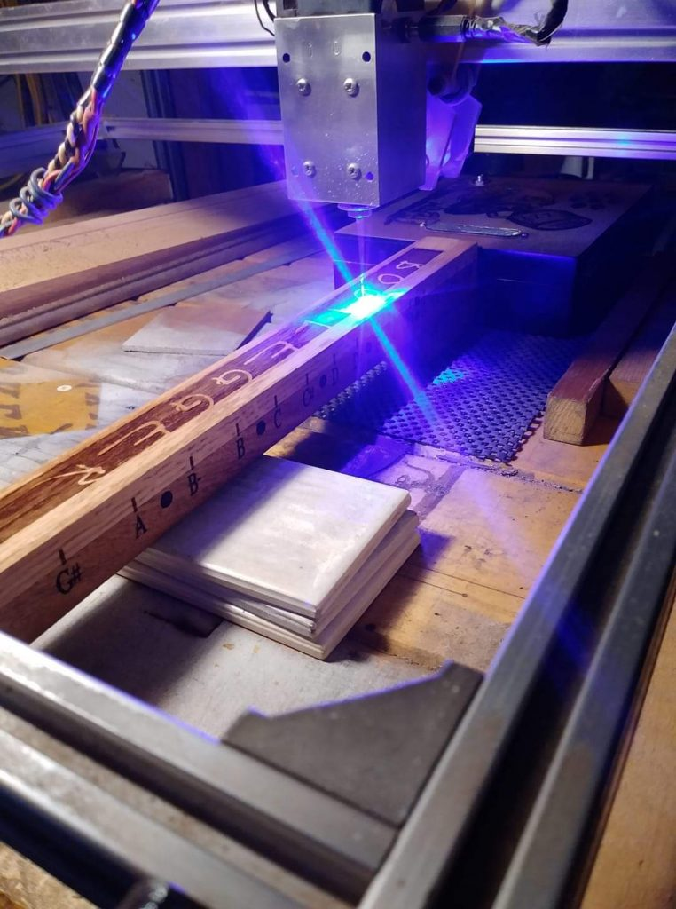 laser is very easy to install on any 3D printer