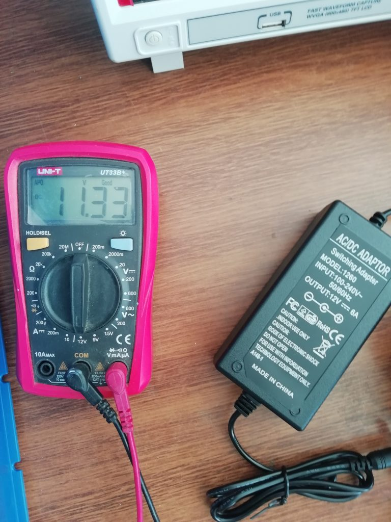 AC/DC power supply tests