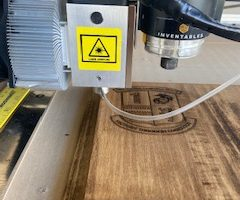 Mounting the Endurance 10 watt PLUS laser near the spindle