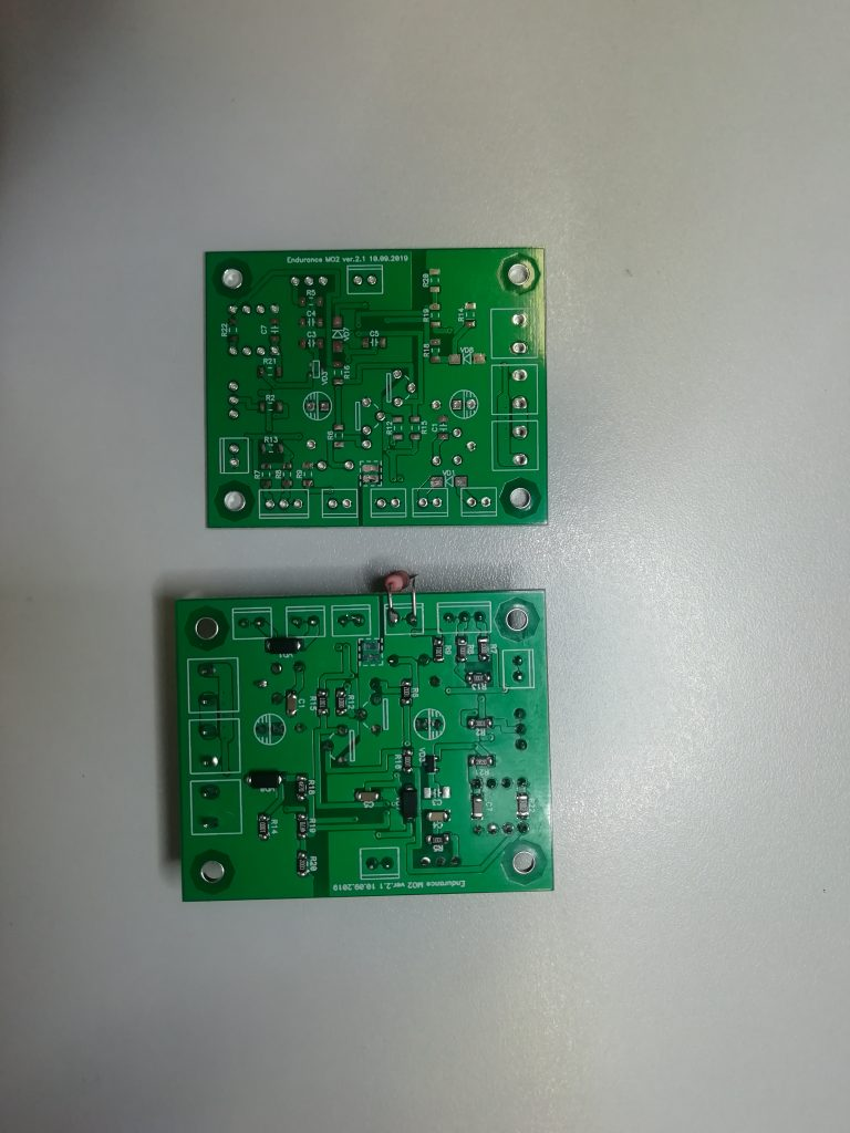About producing of an Endurance Mo2 PCB