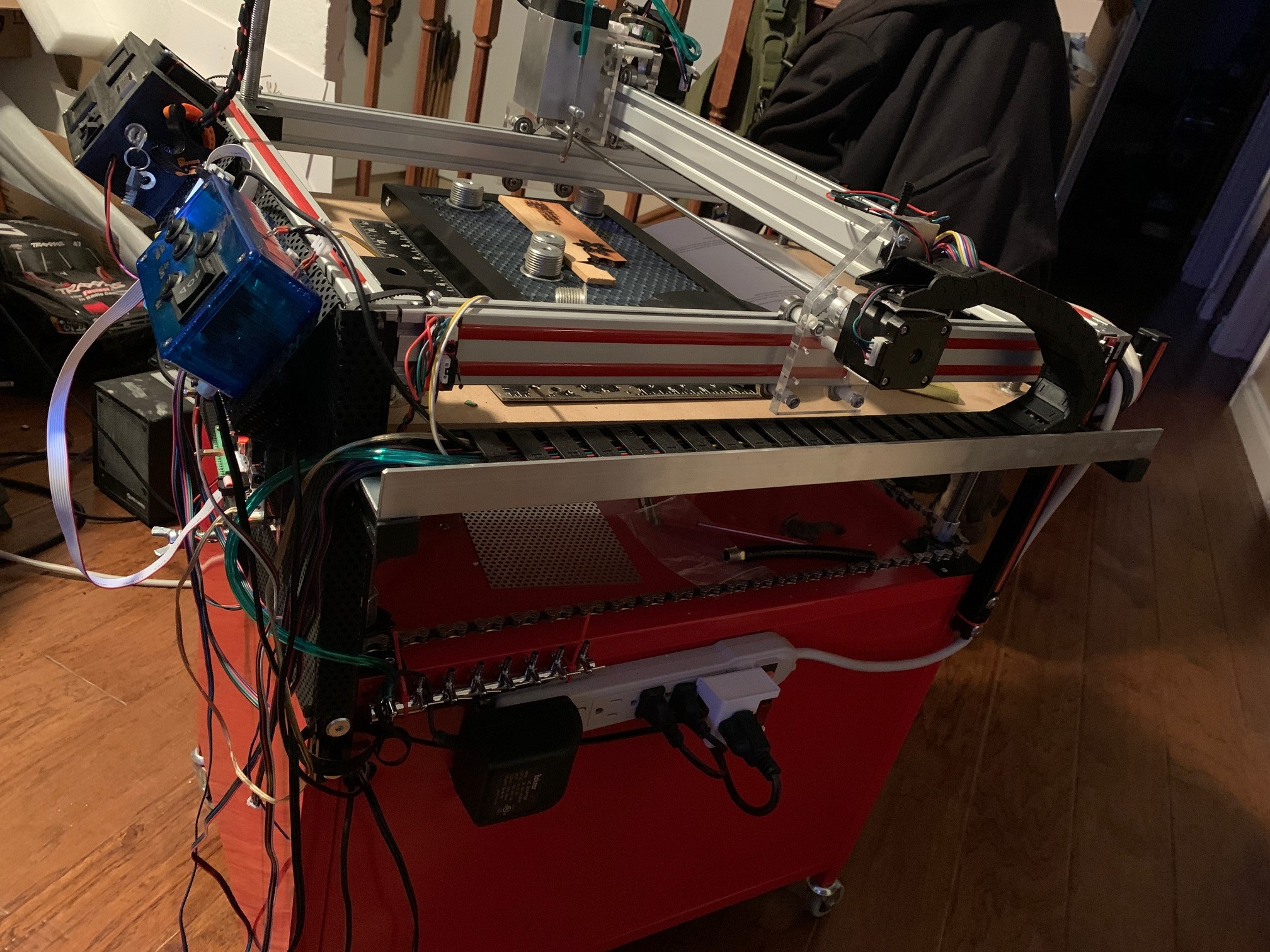 Learn how to design and build my own laser CNC