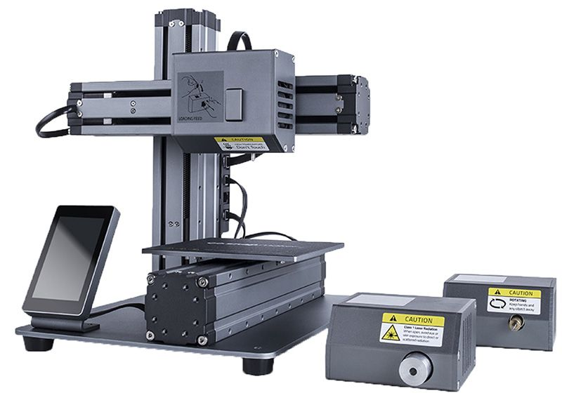 Snapmaker: THE 3-IN-1 3D PRINTER