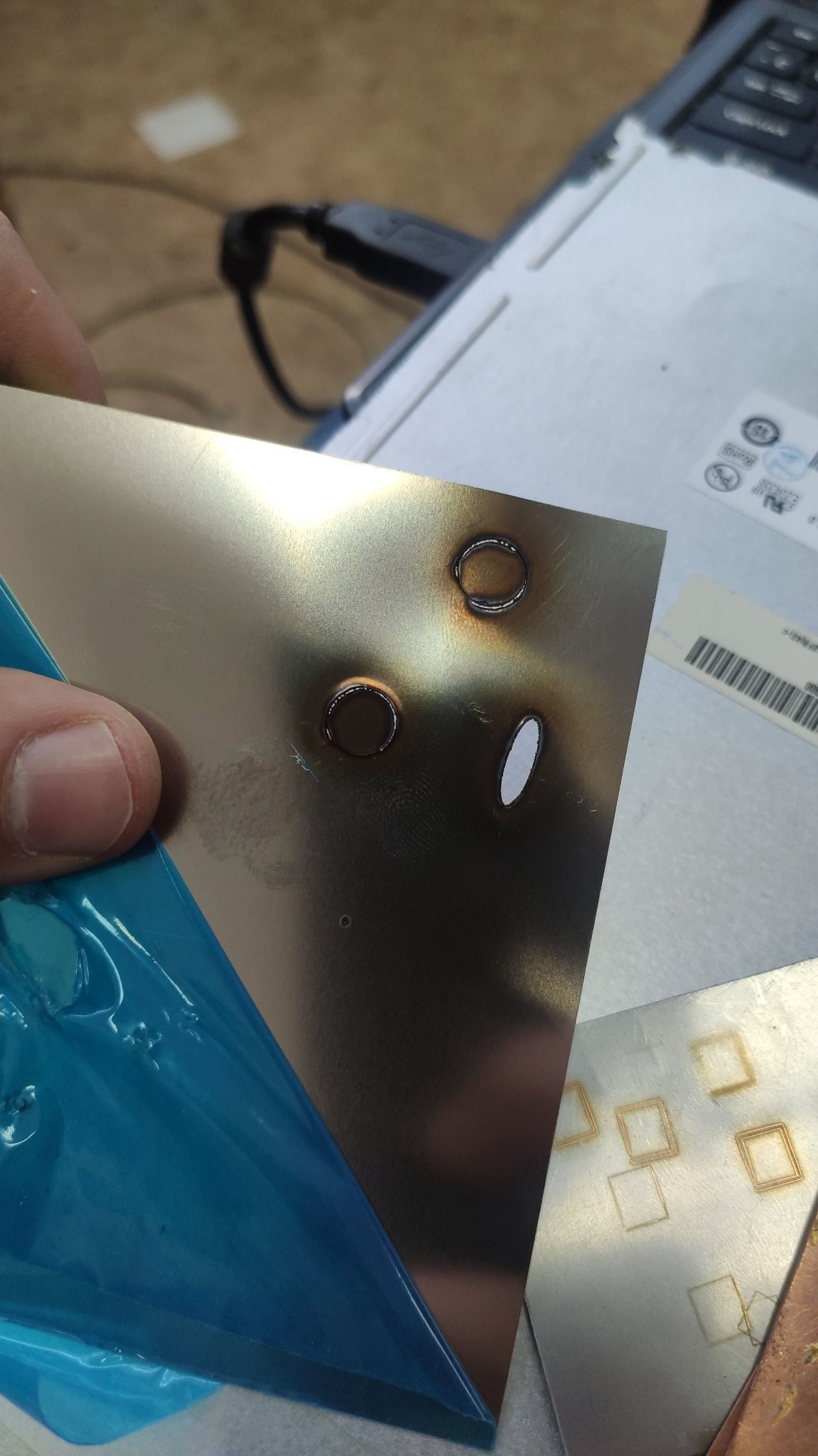 not accurate laser cutting