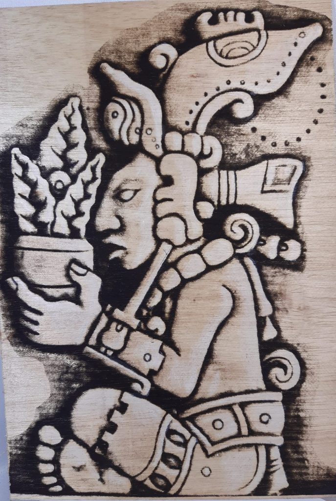Today I came across this shortsighted Mayan horticulturist