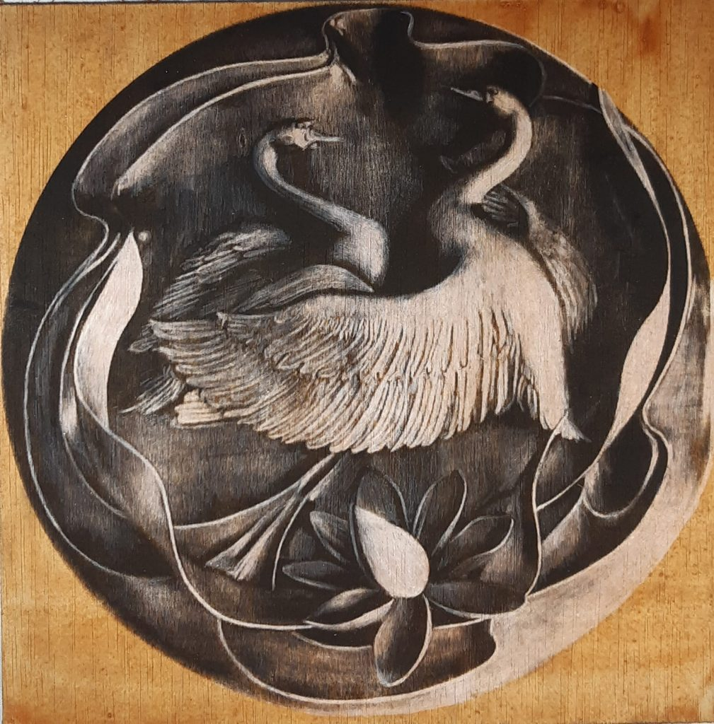Since ancient times, swans have been associated with tranquility and nobility, featuring in myths and stories around the world