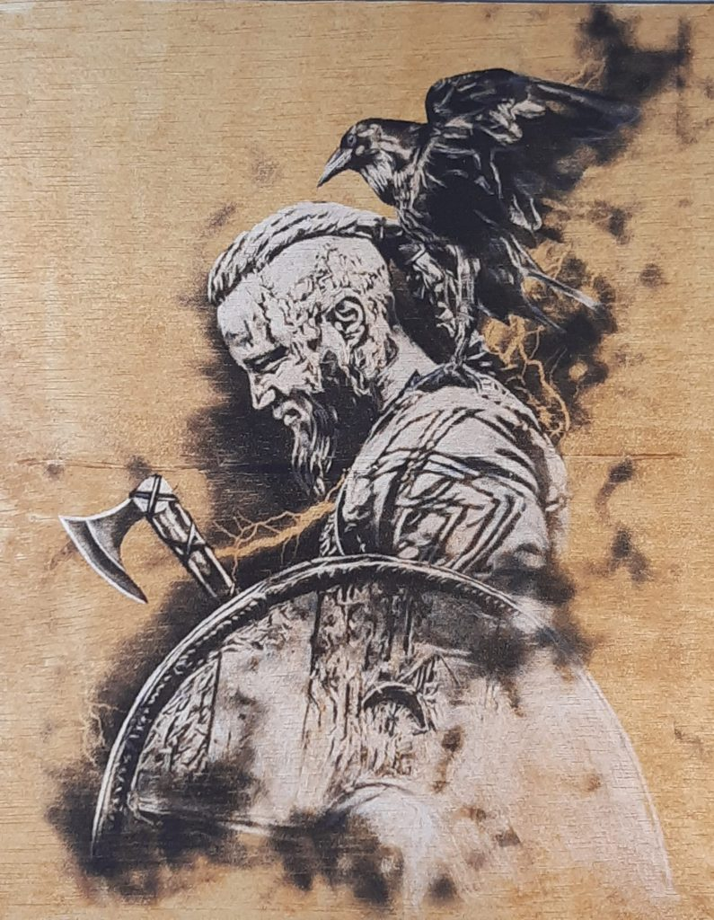 Ragnar Lothbrok is a legendary Viking hero, as well as, according to the Gesta Danorum, a legendary Danish and Swedish king