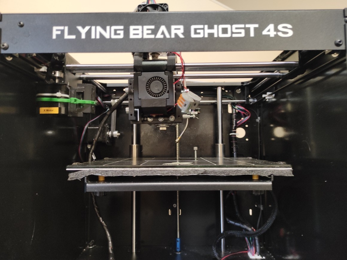 Flyingbear Ghost 4S 3D Printer with the laser