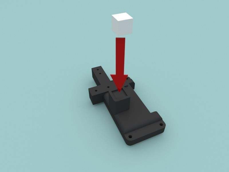 After that, you can print the fasteners on a 3D printer