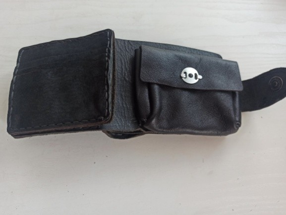 A DIY Leather wallet